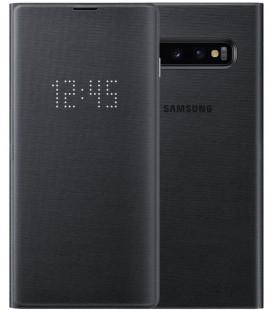 """Originalus juodas atverčiamas dėklas Samsung Galaxy S10 telefonui """"EF-NG973PBEGWW"""""""