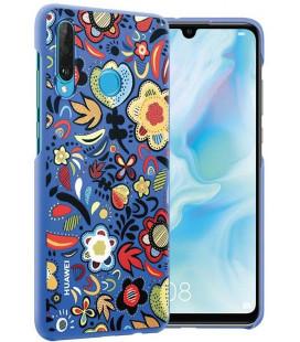 """Originalus mėlynas dėklas Huawei P30 Lite telefonui """"Protective PC case"""""""