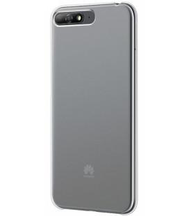 """Originalus skaidrus dėklas Huawei Y6 (2018) telefonui """"PC Back cover"""""""
