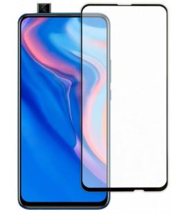 """Juodas apsauginis grūdintas stiklas Huawei P Smart Z (2019) telefonui """"TEMPERED Glass 3D Full Cover"""""""