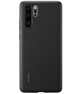 """Originalus juodas dėklas Huawei P30 Pro telefonui """"Protective PU Case"""""""