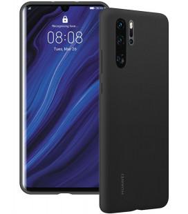 """Originalus juodas dėklas Huawei P30 Pro telefonui """"Silicone Case"""""""