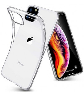 Skaidrus plonas 0,3mm silikoninis dėklas Apple iPhone 11 Pro telefonui