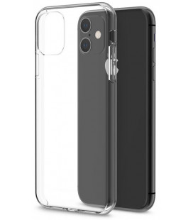 Skaidrus plonas 0,3mm silikoninis dėklas Apple iPhone 11 telefonui