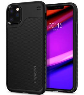 "Juodas dėklas Apple iPhone 11 Pro Max telefonui ""Spigen Hybrid NX"""