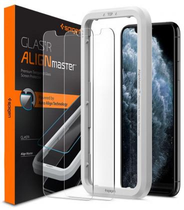 All In Glas.Apsauginiai Grudinti Stiklai Apple Iphone Xr 11 Telefonui Spigen Alignmaster Glas Tr