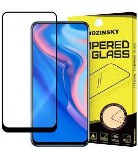 """Juodas apsauginis grūdintas stiklas Huawei P Smart Z telefonui """"Wozinsky Full Glue CF"""""""