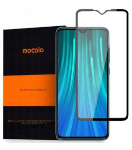 """Juodas apsauginis grūdintas stiklas Xiaomi Redmi Note 8 Pro telefonui """"Mocolo"""""""
