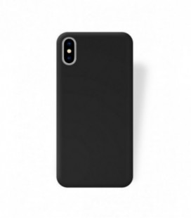 Dėklas Rubber TPU iPhone 5/5S/SE juodas