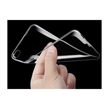 Skaidrus plonas 0,3mm silikoninis dėklas Sony Xperia M5 telefonui