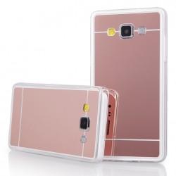 """Rausvai auksinės spalvos silikoninis dėklas Samsung Galaxy A5 A500 telefonui """"Mirror"""""""