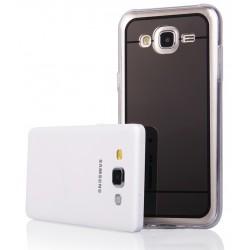 """Juodas silikoninis dėklas Samsung Galaxy J5 J500 telefonui """"Mirror"""""""