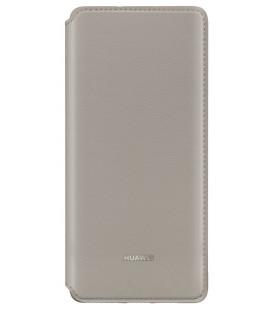 """Originalus rudas atverčiamas dėklas Huawei P30 Pro telefonui """"Wallet Cover"""""""