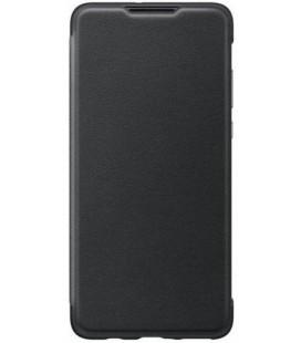 """Originalus juodas atverčiamas dėklas Huawei P30 Lite telefonui """"Wallet Cover"""""""