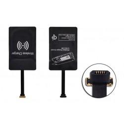 Universalus MicroUSB belaidžio įkrovimo adapteris