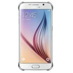 Originalus sidabrinės spalvos dėklas Samsung Galaxy S6 telefonui ef-qg920bse