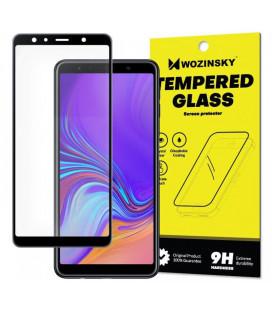 """Juodas apsauginis grūdintas stiklas Samsung Galaxy J6 Plus 2018 telefonui """"Wozinsky Full Glue"""""""