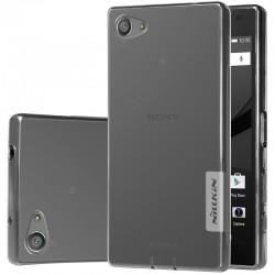 "Pilkas dėklas Sony Xperia Z5 Compact telefonui ""Nillkin Nature"""