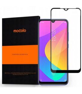 """Juodas apsauginis grūdintas stiklas Xiaomi Mi 9 Lite telefonui """"Mocolo"""""""