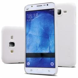 """Baltas plastikinis dėklas Samsung Galaxy J5 Telefonui """"Nillkin Frosted Shield"""""""