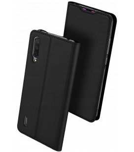 """Juodas atverčiamas dėklas Xiaomi Mi 9 Lite telefonui """"Dux Ducis Skin Pro"""""""