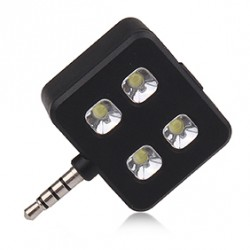 Papildomas mini LED žibintas telefonui ar planšetiniui kompiuteriui