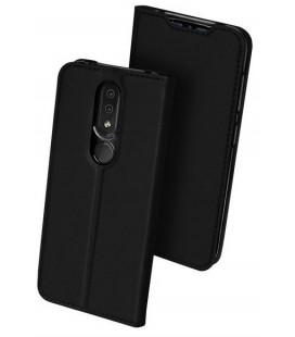 """Juodas atverčiamas dėklas """"Skin Pro"""" Nokia 4.2 telefonui """"Dux Ducis Skin Pro"""""""