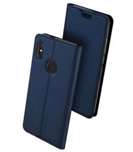 """Mėlynas atverčiamas dėklas Xiaomi Redmi Note 7 telefonui """"Dux Ducis Skin Pro"""""""