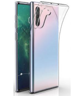 Skaidrus plonas 0,3mm silikoninis dėklas Samsung Galaxy Note 10 telefonui