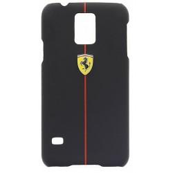 """Juodas dėklas Samsung Galaxy S5 G900 telefonui """"Ferrari"""""""