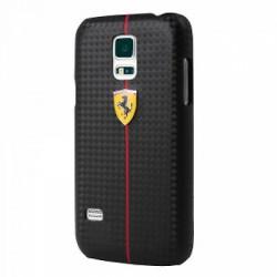 """Juodas dėklas Samsung Galaxy S5 telefonui """"Ferrari"""""""