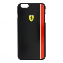 """Juodas dėklas Apple iPhone 6 Plus / 6s Plus telefonui """"Ferrari"""""""