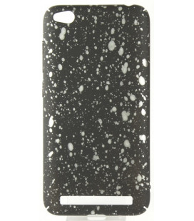 "Juodas - baltas dėklas Xiaomi Redmi 5A telefonui ""Splash Soft Case"""