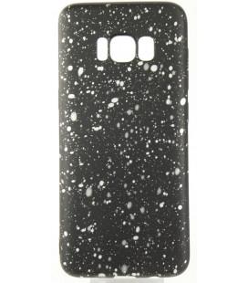 """Juodas - baltas dėklas Samsung Galaxy S8 telefonui """"Splash Soft Case"""""""