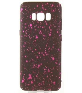 """Juodas - rožinis dėklas Samsung Galaxy S8 telefonui """"Splash Soft Case"""""""