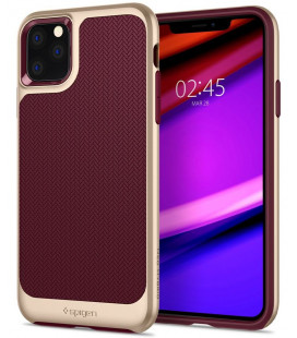"""Raudonas dėklas Apple iPhone 11 Pro telefonui """"Spigen Neo Hybrid"""""""