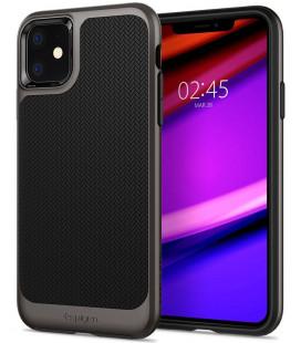 "Pilkas dėklas Apple iPhone 11 telefonui ""Spigen Neo Hybrid"""