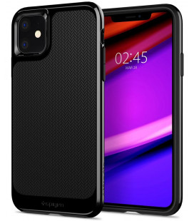 "Juodas dėklas Apple iPhone 11 telefonui ""Spigen Neo Hybrid"""