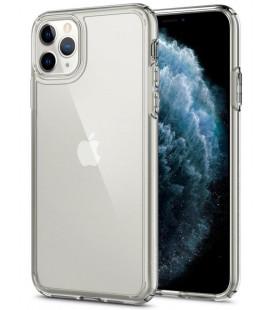 """Skaidrus dėklas Apple iPhone 11 Pro Max telefonui """"Spigen Ultra Hybrid"""""""