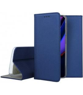"""Mėlynas atverčiamas dėklas Apple iPhone 11 Pro Max telefonui """"Smart Book Magnet"""""""