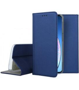 """Mėlynas atverčiamas dėklas Apple iPhone 11 telefonui """"Smart Book Magnet"""""""