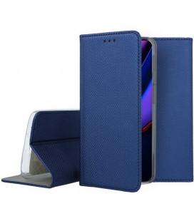 """Mėlynas atverčiamas dėklas Apple iPhone 11 Pro telefonui """"Smart Book Magnet"""""""