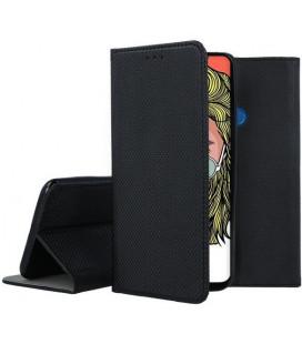 """Juodas atverčiamas dėklas Huawei P Smart Z telefonui """"Smart Book Magnet"""""""
