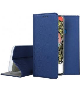 """Mėlynas atverčiamas dėklas Huawei P Smart Z telefonui """"Smart Book Magnet"""""""