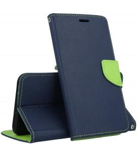"""Mėlynas atverčiamas dėklas Huawei P30 Lite telefonui """"Telone Fancy"""""""