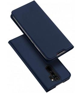 """Mėlynas atverčiamas dėklas Xiaomi Redmi Note 8 Pro telefonui """"Dux Ducis Skin Pro"""""""
