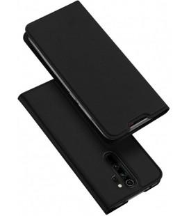 """Juodas atverčiamas dėklas Xiaomi Redmi Note 8 Pro telefonui """"Dux Ducis Skin Pro"""""""