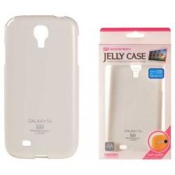 "Baltas dėklas Mercury Goospery ""Jelly Case"" Samsung Galaxy S4 I9500 telefonui"
