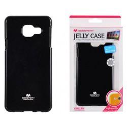 "Juodas dėklas Mercury Goospery ""Jelly Case"" Samsung Galaxy A3 2016 (6) A310 telefonui"