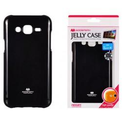 """Juodas dėklas Mercury Goospery """"Jelly Case"""" Samsung Galaxy J5 J500 telefonui"""